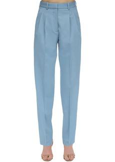 Stella McCartney High Waist Tailored Stretch Wool Pants