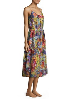 Stella McCartney Iconic Print Midi Cover-Up