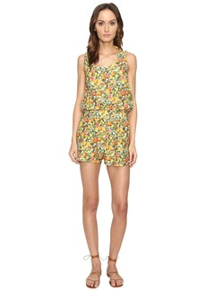 Stella McCartney Iconic Prints All-In-One Romper Cover-Up