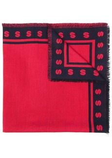 Stella McCartney initial edge scarf