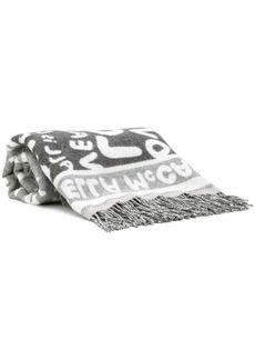 Stella McCartney intarsia logo scarf