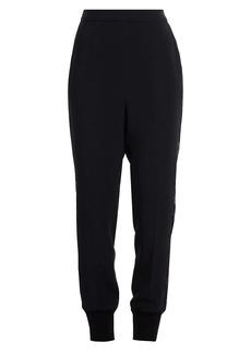 Stella McCartney Julia Lace Stretch Cady Trousers