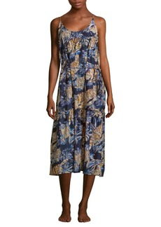 Stella McCartney Jungle Print Dress Cover-Up