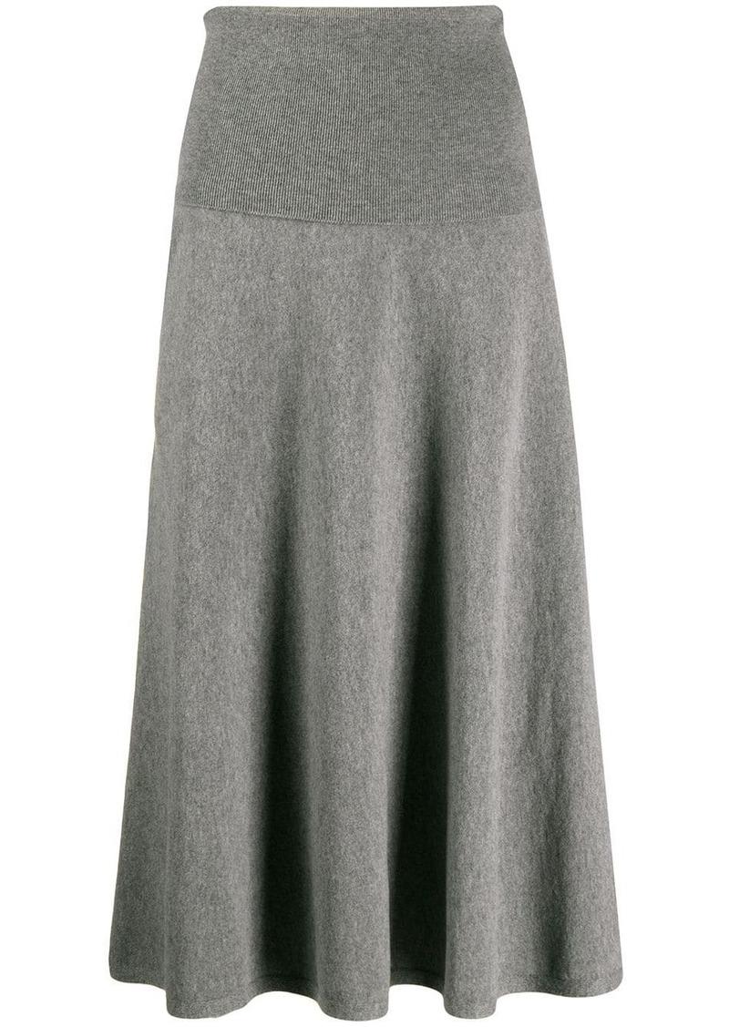 Stella McCartney knitted high waisted full skirt