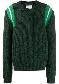 Stella McCartney knitted striped jumper