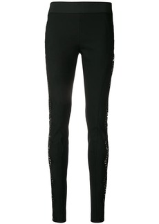 Stella McCartney lace-embellished leggings