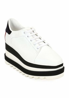 Stella McCartney Lace-Up Striped-Platform Oxford