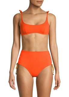 Stella McCartney Lacing Bikini Top