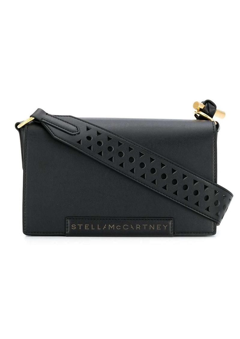 Stella McCartney laser-cut strap shoulder bag