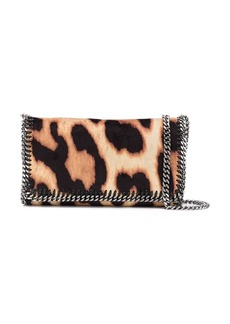 Stella McCartney leopard Falabella crossbody bag