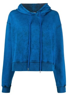 Stella McCartney logo cropped hoodie