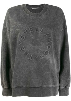 Stella McCartney logo detail sweatshirt