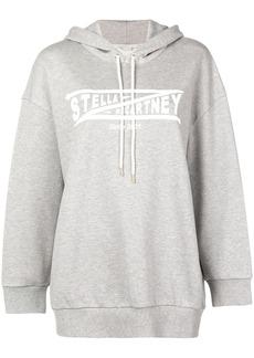 Stella McCartney logo drawstring hoodie