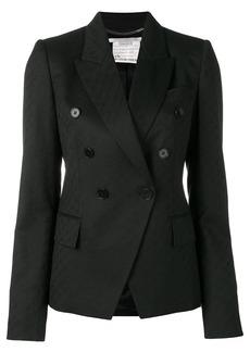 Stella McCartney logo jacquard blazer