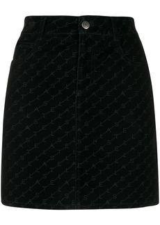 Stella McCartney logo mini skirt