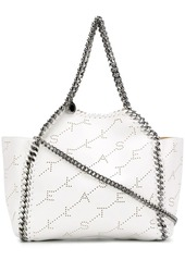Stella McCartney logo perforated Falabella shoulder bag