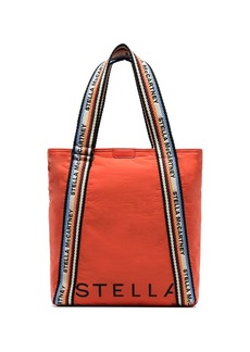 Stella McCartney logo-print padded nylon tote bag