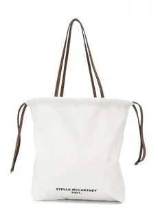Stella McCartney logo print tote bag