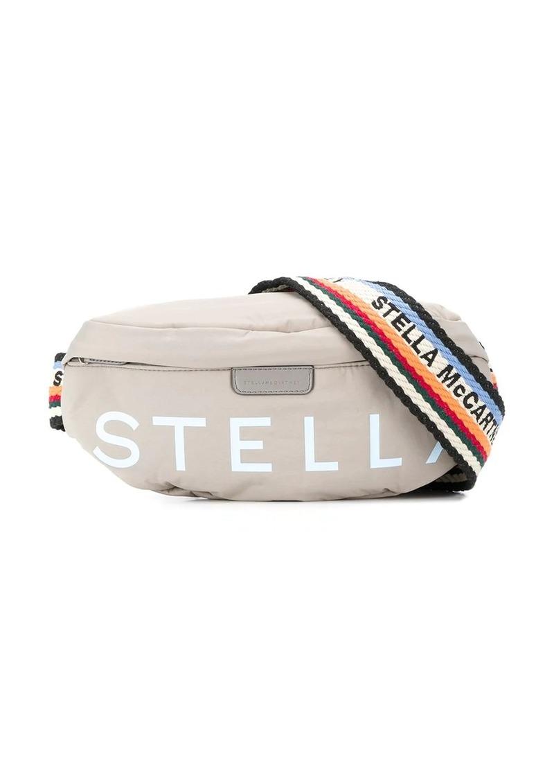 Stella McCartney logo-strap belt bag