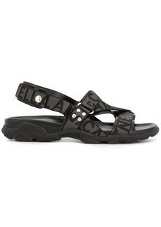 Stella McCartney logo strap sandals