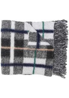 Stella McCartney long plaid scarf