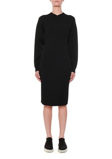 Stella McCartney Long-Sleeve Fitted Jersey Dress