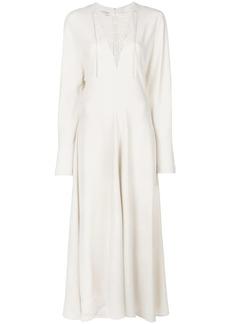 Stella McCartney longsleeved flared dress