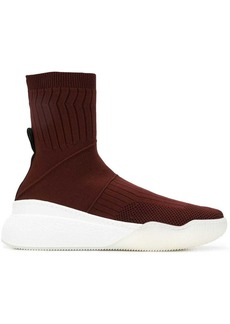 Stella McCartney Loop knitted sock sneakers