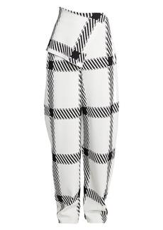 Stella McCartney Lumberjack-Check Knit Pants