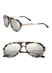 Stella McCartney Metal & Plastic Aviator Sunglasses