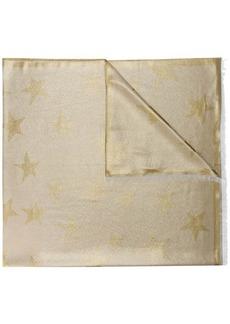Stella McCartney metallic star scarf