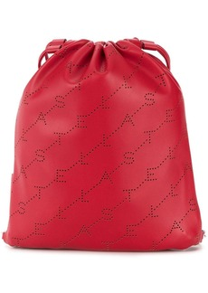 Stella McCartney mini monogram drawstring bag