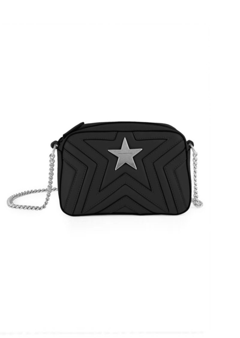 966518636332 Stella McCartney Mini Stella Star Studded Crossbody Bag