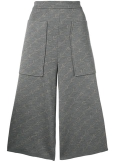 Stella McCartney monogram knit trousers