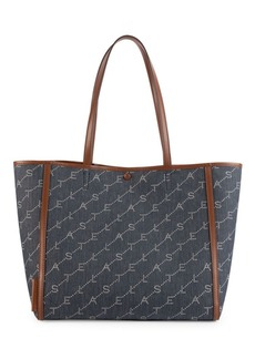 Stella McCartney Small Monogram Denim Tote