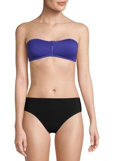 Stella McCartney Neoprene Mesh Bikini Top