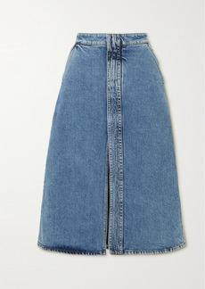 Stella McCartney Net Sustain Denim Midi Skirt