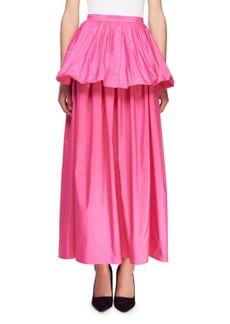 Stella McCartney Noelle Peplum Full Skirt