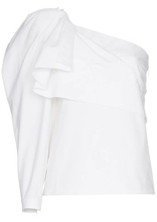 Stella McCartney one shoulder cotton top