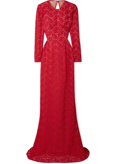 Stella McCartney Open-back Corded Lace Gown