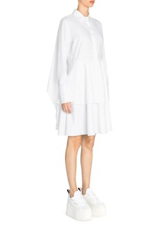 Stella McCartney Organic Cotton Long Sleeve Tiered Dress