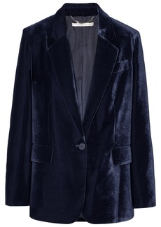 Stella McCartney Oversized Velvet Blazer
