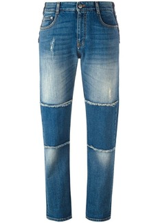 Stella McCartney panelled boyfriend jeans