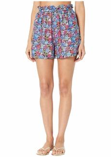 Stella McCartney Pansy Print Shorts