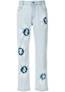 Stella McCartney patterned jeans