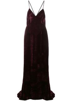 Stella McCartney Paulina velvet dress