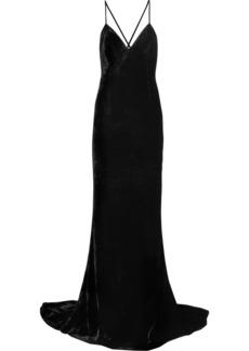 Stella McCartney Paulina Velvet Gown