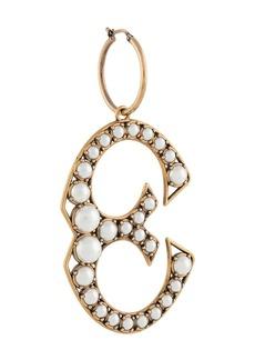 Stella McCartney pearl-embellished charm earring