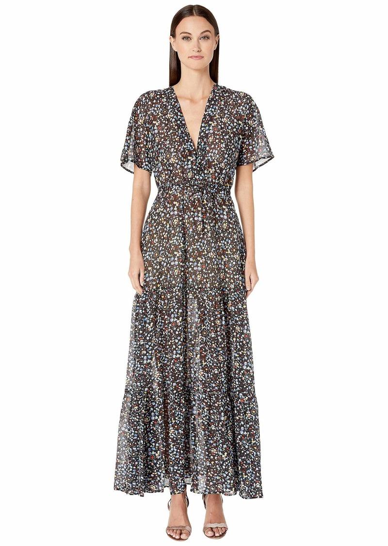 Stella McCartney Pebble Print Long Dress
