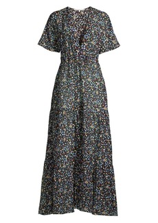 Stella McCartney Pebble Print Maxi Dress